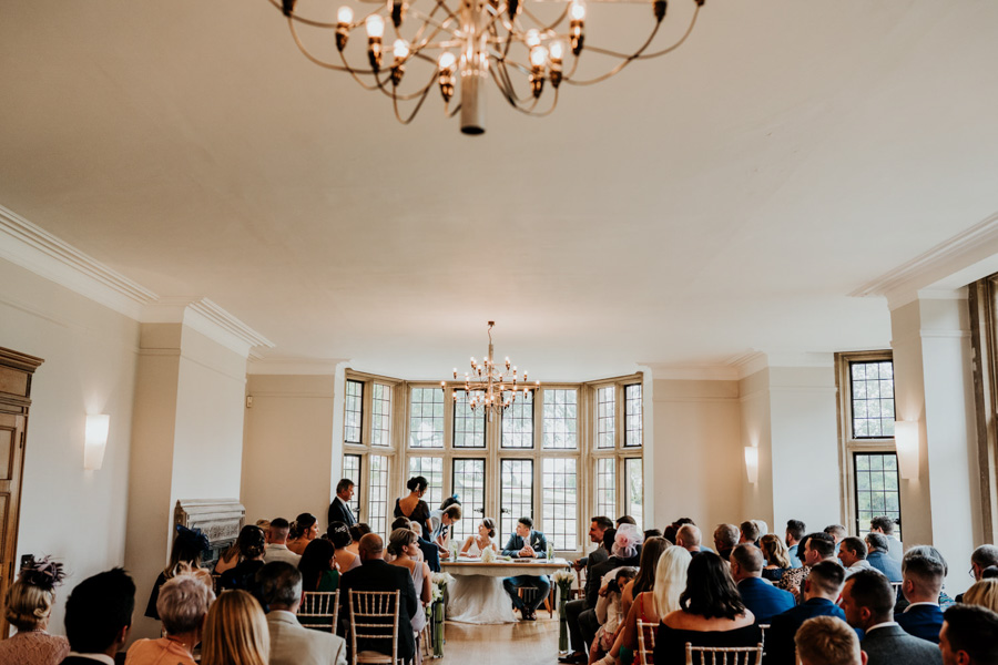 Charlotte and Dexter's minimal and elegant Coombe Lodge wedding, image credit Ryan Goold Photography (19)