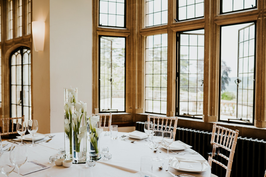 Charlotte and Dexter's minimal and elegant Coombe Lodge wedding, image credit Ryan Goold Photography (23)