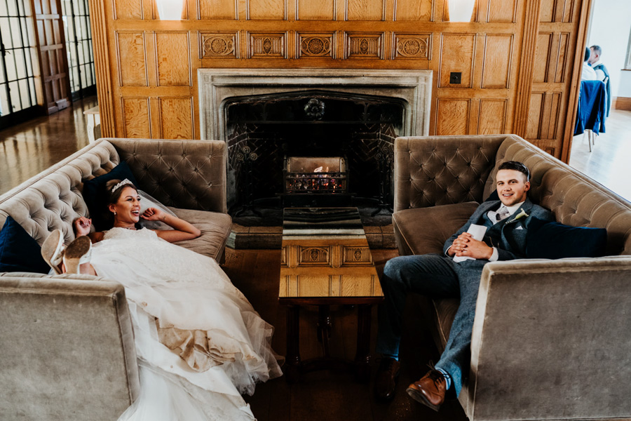 Charlotte and Dexter's minimal and elegant Coombe Lodge wedding, image credit Ryan Goold Photography (38)