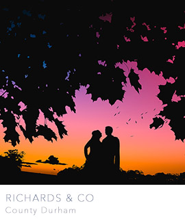 richards and co wedding photographers newcastle durham