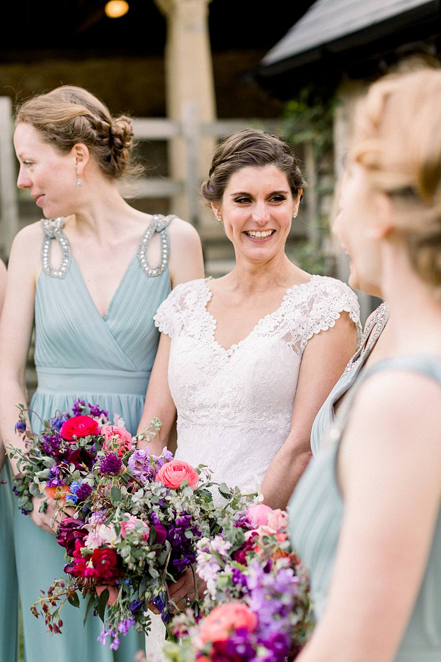 An elegant english barn wedding at Upcote with Hannah K Photography on English Wedding (23)