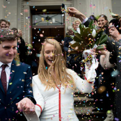 Anna & Ollie's easy, fun, boozy, colourful London wedding, with Annelie Eddy Photography