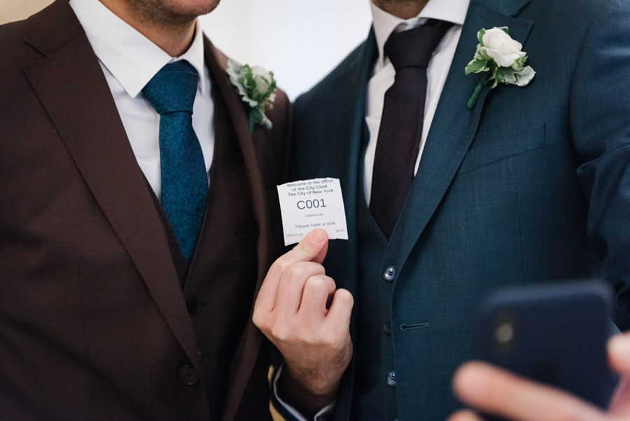 Michael and Keith's New York elopement with Everly Studios (2)