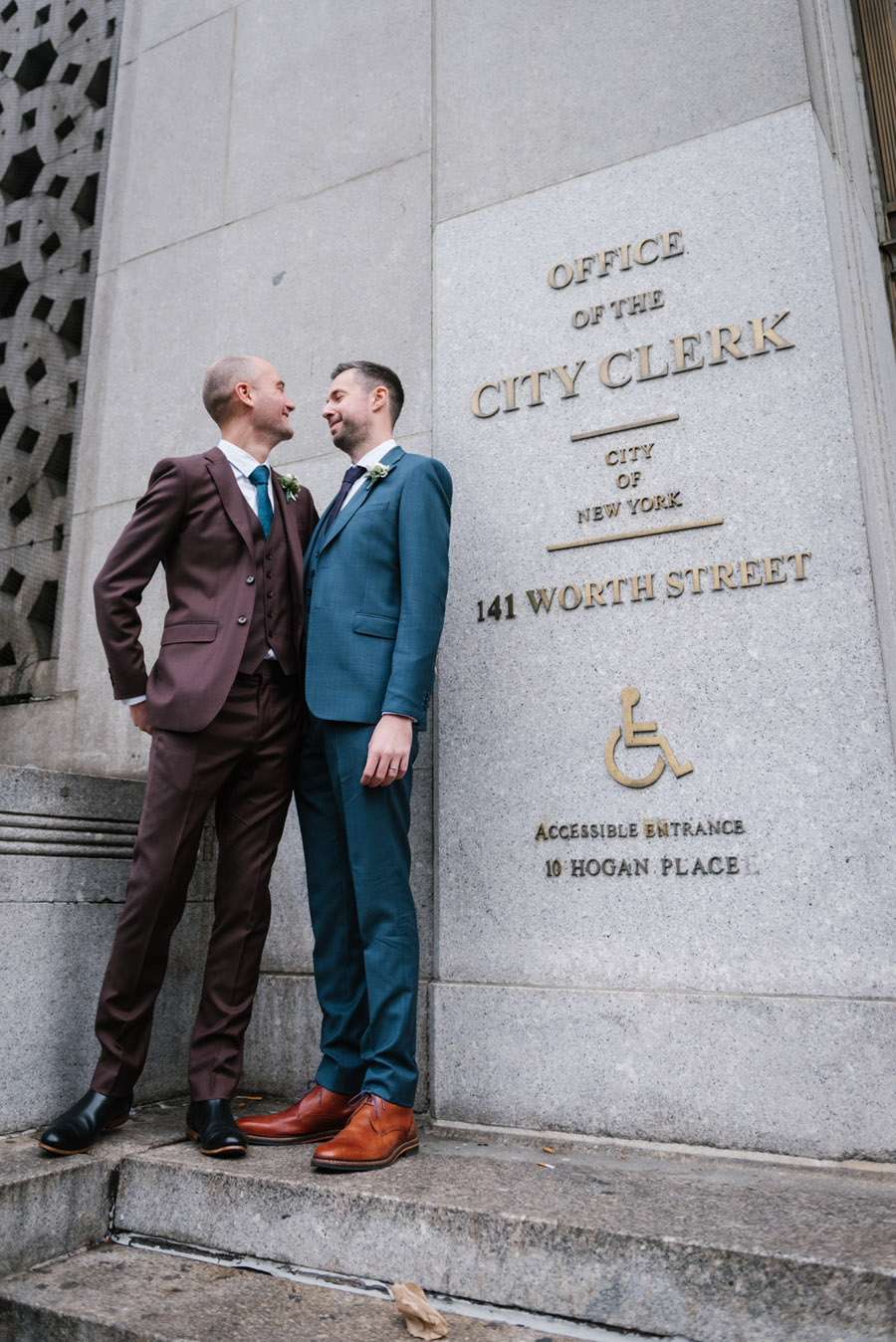 Michael and Keith's New York elopement with Everly Studios (5)