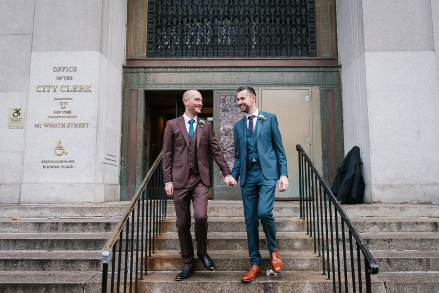 Michael and Keith's New York elopement with Everly Studios (6)
