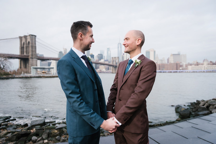 Michael and Keith's New York elopement with Everly Studios (8)