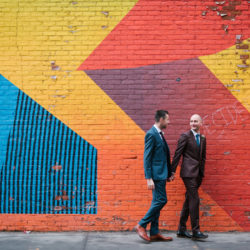 Michael and Keith's classy NYC elopement, with Everly Studios