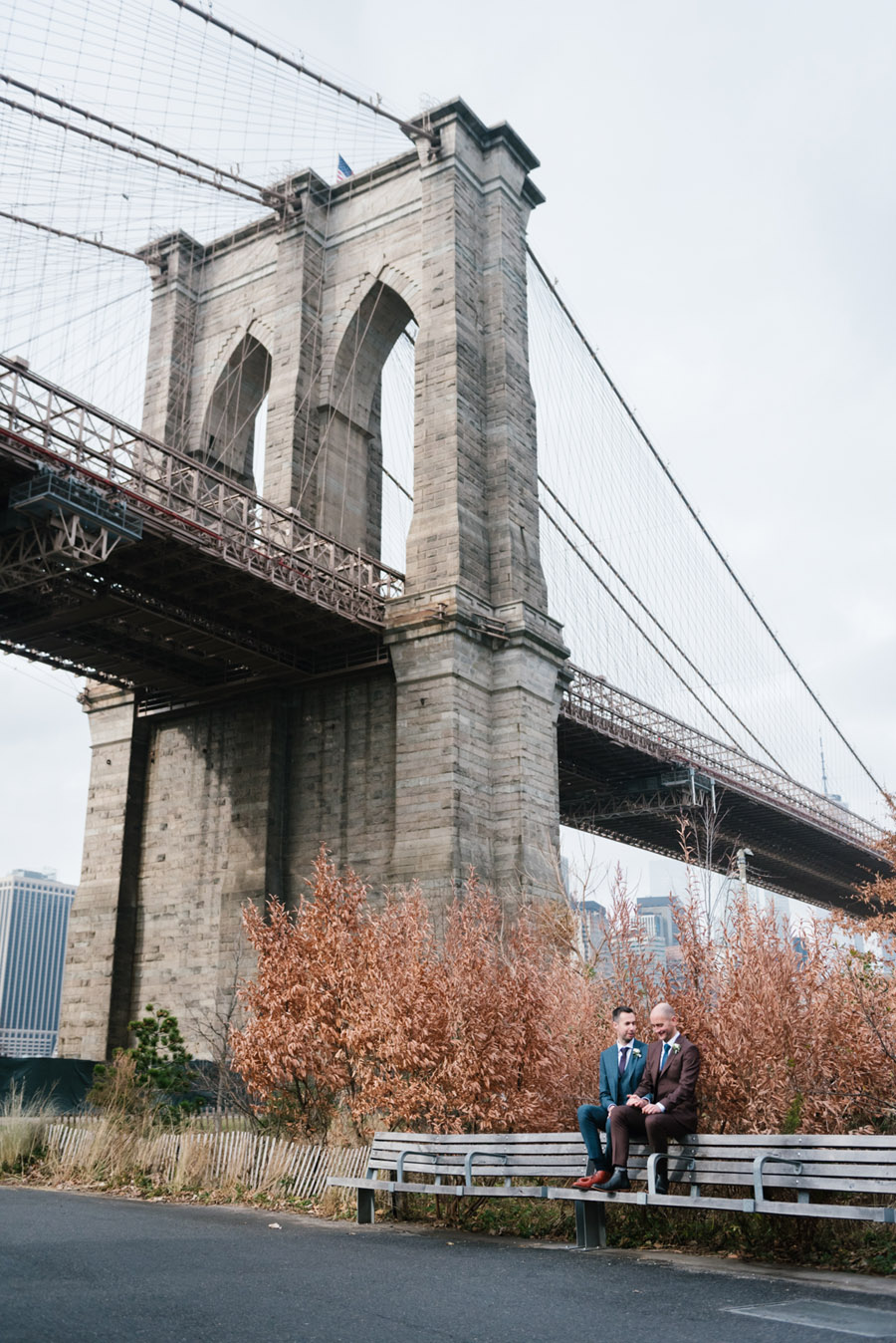 Michael and Keith's New York elopement with Everly Studios (15)