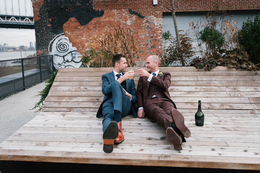 Michael and Keith's New York elopement with Everly Studios (17)