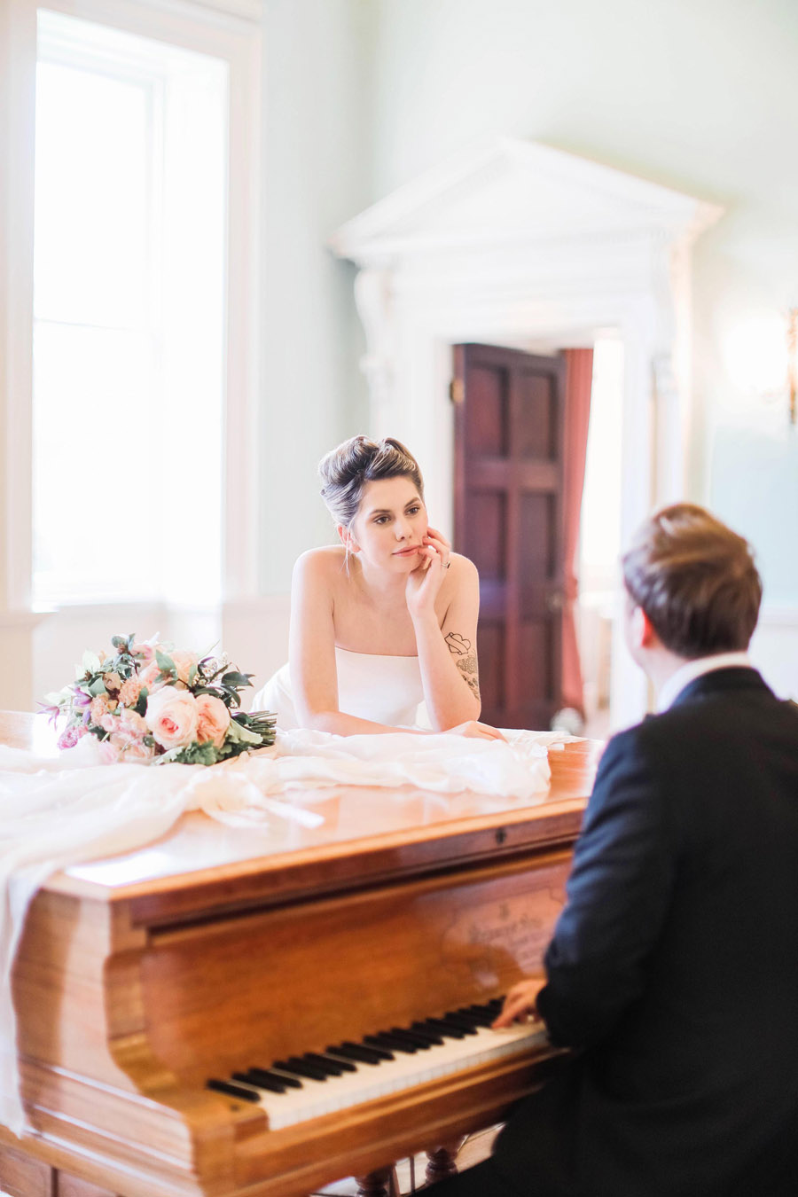 Photo credit Charlotte Wise Photography at Kirtlington Park via English Wedding Blog (5)