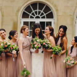 Tess & Tom's stunning blush, cream and green wedding at Northbrook Park, with MIKI Photography