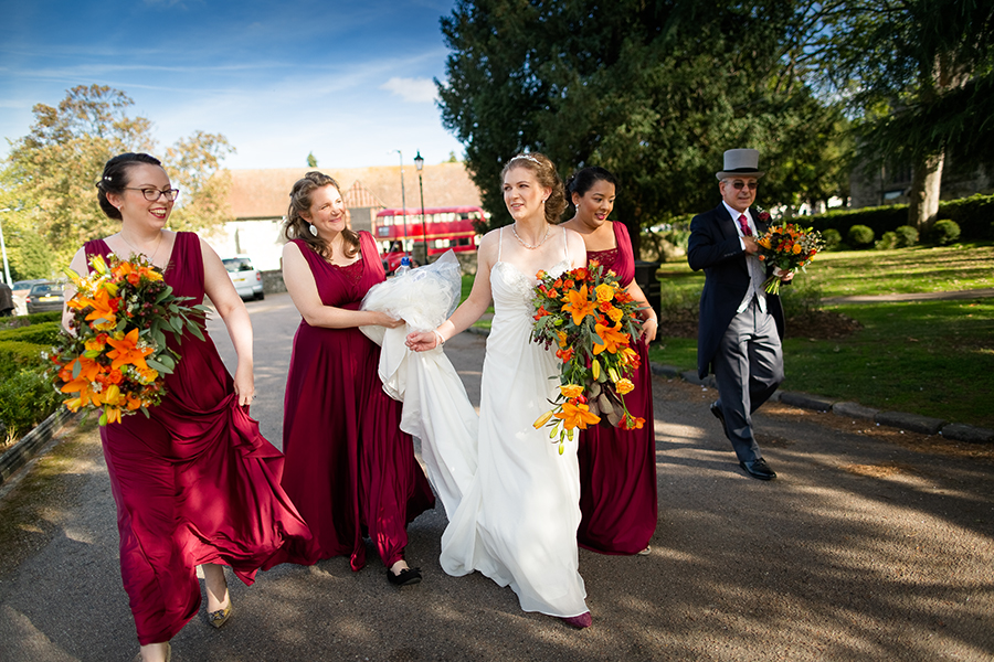 Sophie and Chris's classic autumn wedding in Kent, images by Terence Joseph Photography (5)