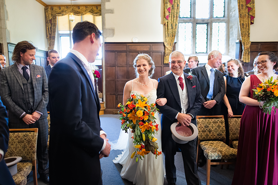 Sophie and Chris's classic autumn wedding in Kent, images by Terence Joseph Photography (8)