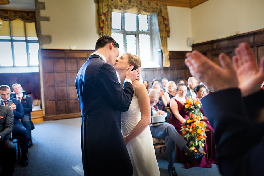 Sophie and Chris's classic autumn wedding in Kent, images by Terence Joseph Photography (12)