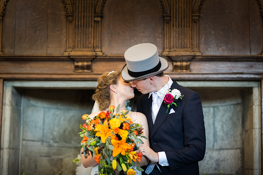 Sophie and Chris's classic autumn wedding in Kent, images by Terence Joseph Photography (14)