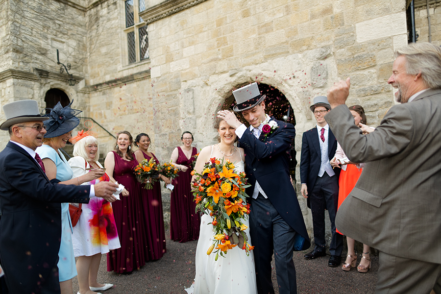 Sophie and Chris's classic autumn wedding in Kent, images by Terence Joseph Photography (16)