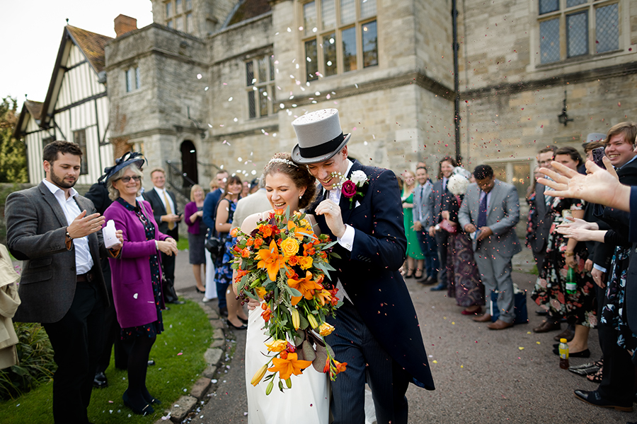 Sophie and Chris's classic autumn wedding in Kent, images by Terence Joseph Photography (17)