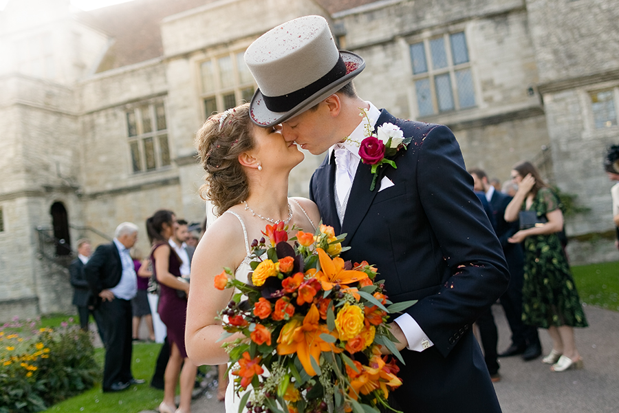 Sophie and Chris's classic autumn wedding in Kent, images by Terence Joseph Photography (18)