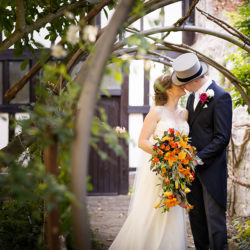 Sophie and Chris's autumnal Kent wedding, with Terence Joseph Photography