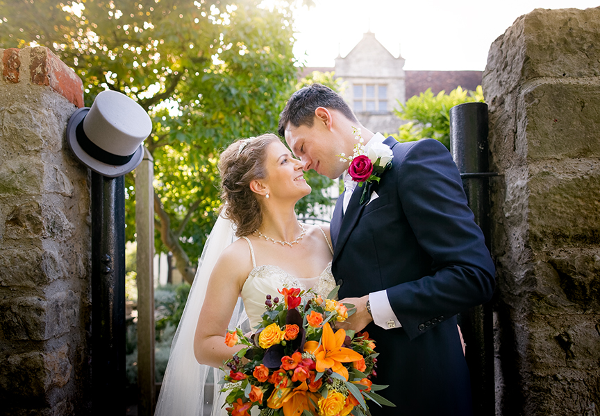 Sophie and Chris's classic autumn wedding in Kent, images by Terence Joseph Photography (22)