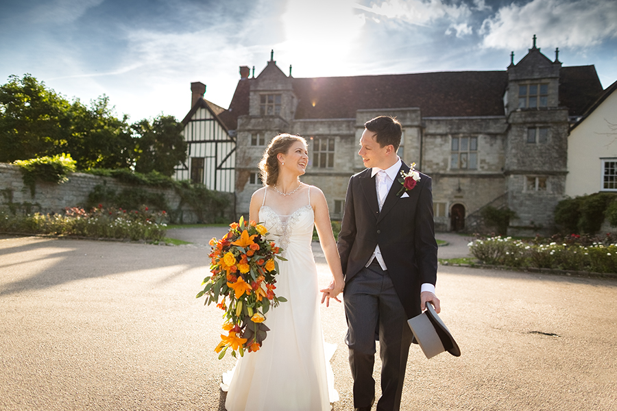 Sophie and Chris's classic autumn wedding in Kent, images by Terence Joseph Photography (1)