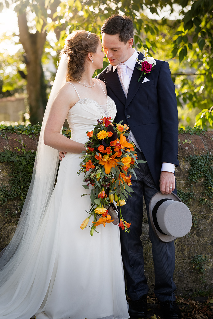 Sophie and Chris's classic autumn wedding in Kent, images by Terence Joseph Photography (24)