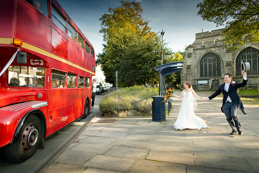 Sophie and Chris's classic autumn wedding in Kent, images by Terence Joseph Photography (25)