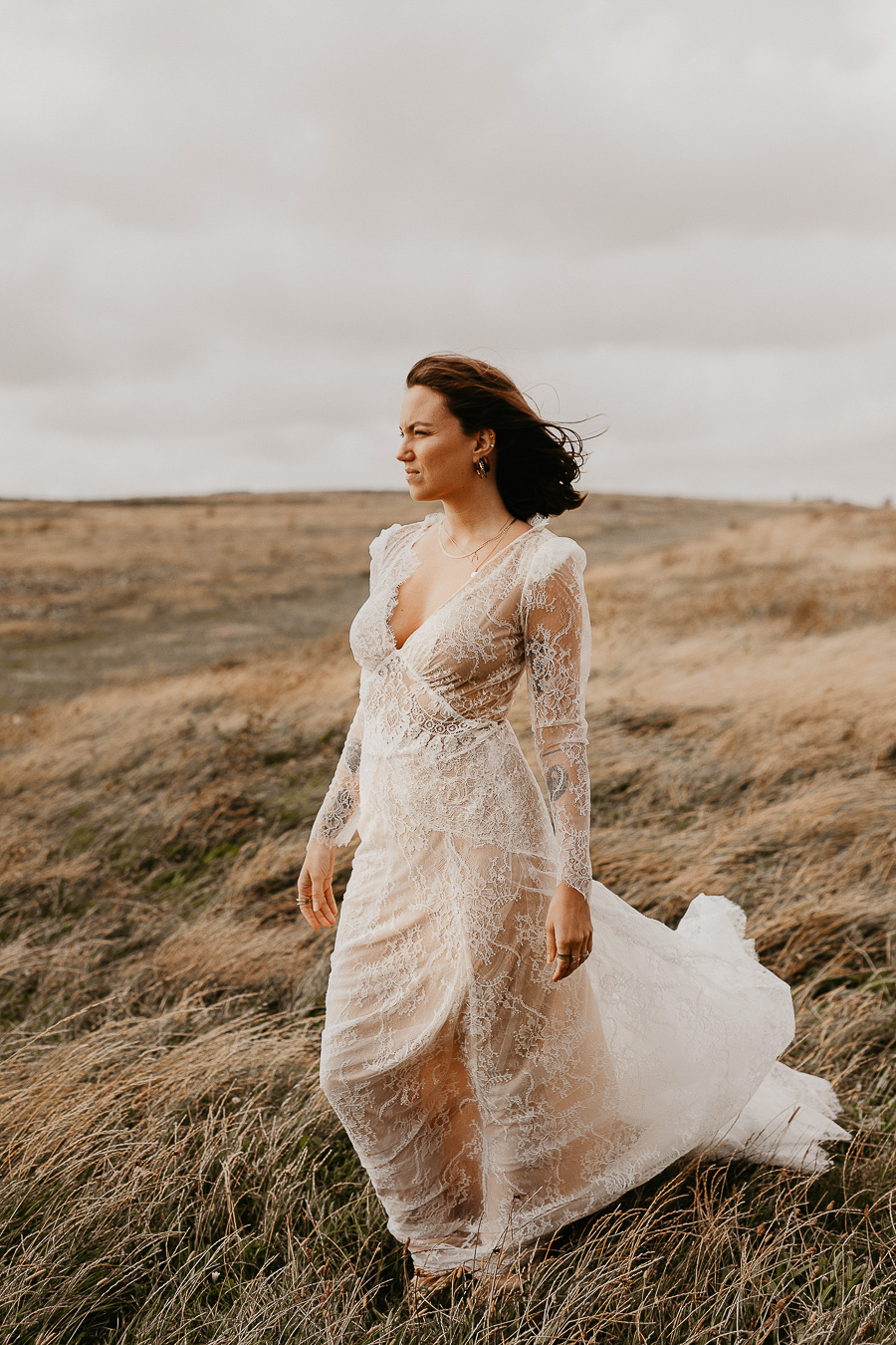 Sussex Coast wedding photography wild spirit style Jessica Lily Photography (11)