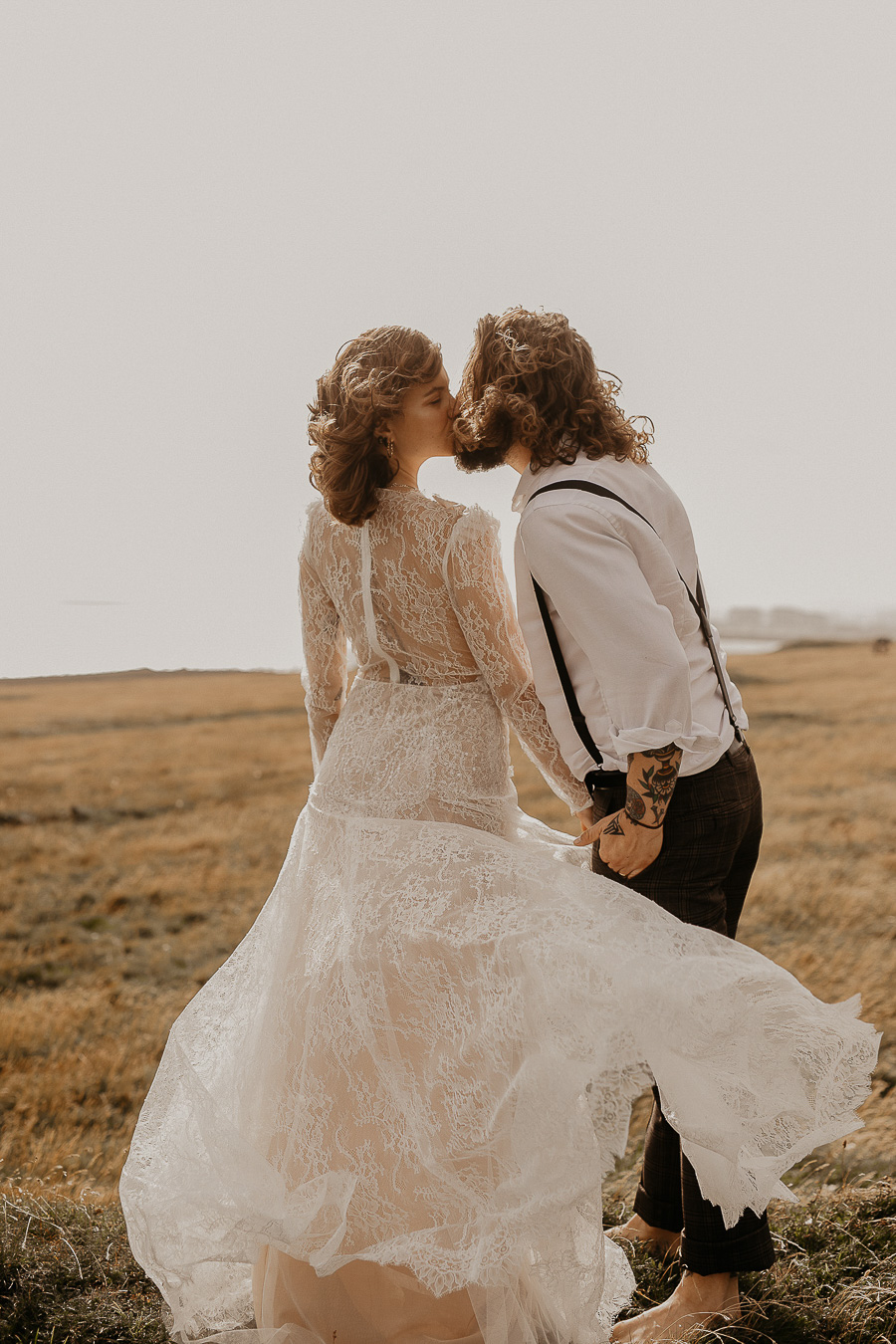 Sussex Coast wedding photography wild spirit style Jessica Lily Photography (13)