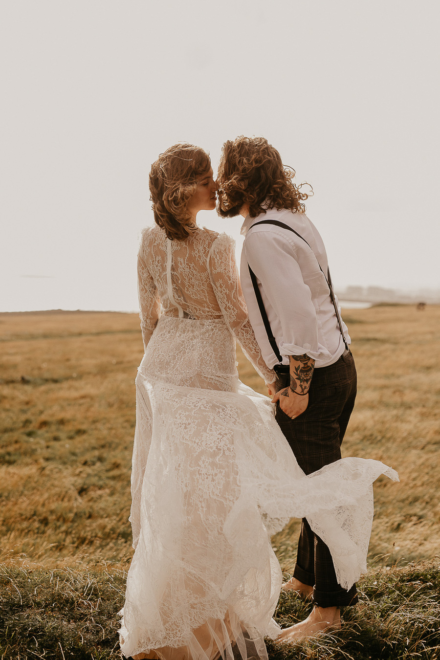 Sussex Coast wedding photography wild spirit style Jessica Lily Photography (14)