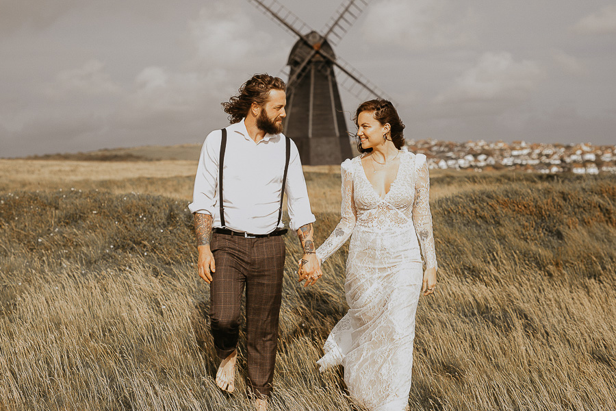 Sussex Coast wedding photography wild spirit style Jessica Lily Photography (15)