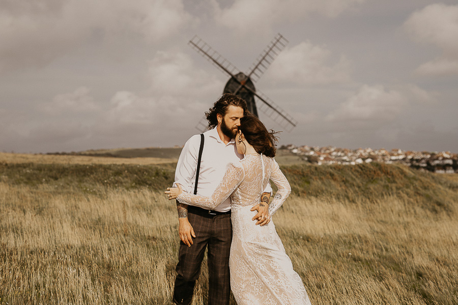 Sussex Coast wedding photography wild spirit style Jessica Lily Photography (16)