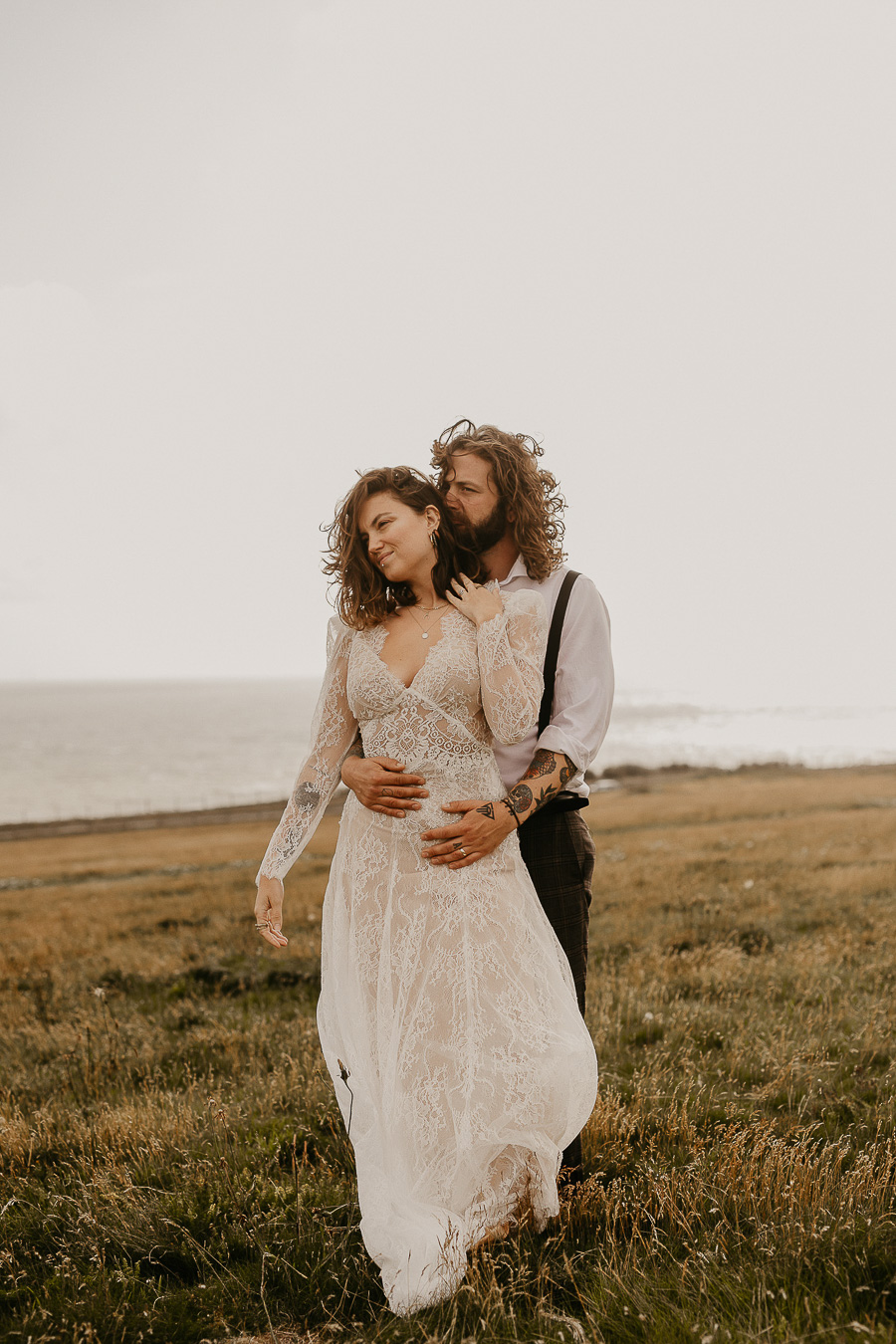 Sussex Coast wedding photography wild spirit style Jessica Lily Photography (18)