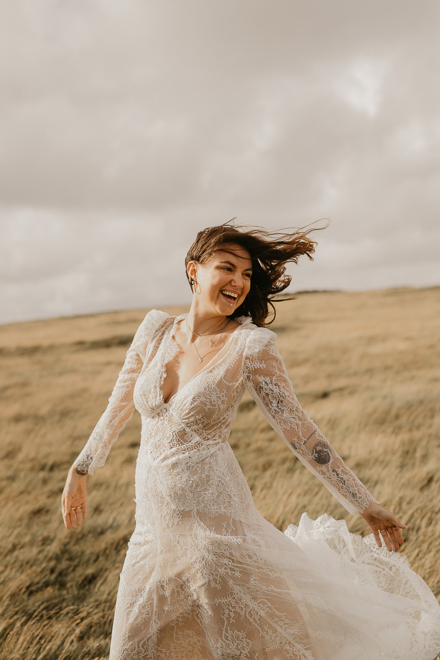 Sussex Coast wedding photography wild spirit style Jessica Lily Photography (19)