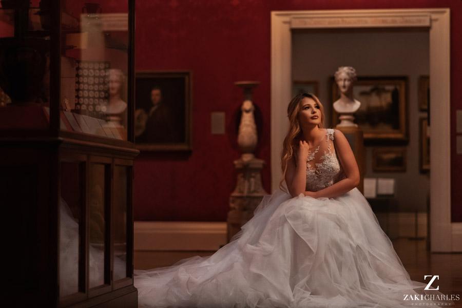 Oxford wedding photography, alternative wedding ideas from Ashmolean Museum with Zaki Charles Photography (42)