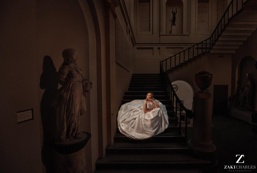 Oxford wedding photography, alternative wedding ideas from Ashmolean Museum with Zaki Charles Photography (38)