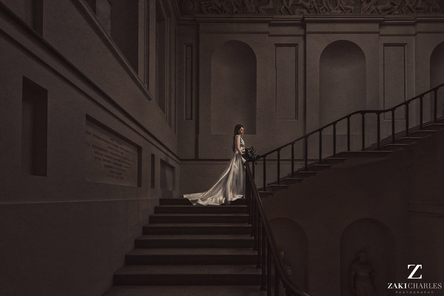 Oxford wedding photography, alternative wedding ideas from Ashmolean Museum with Zaki Charles Photography (35)