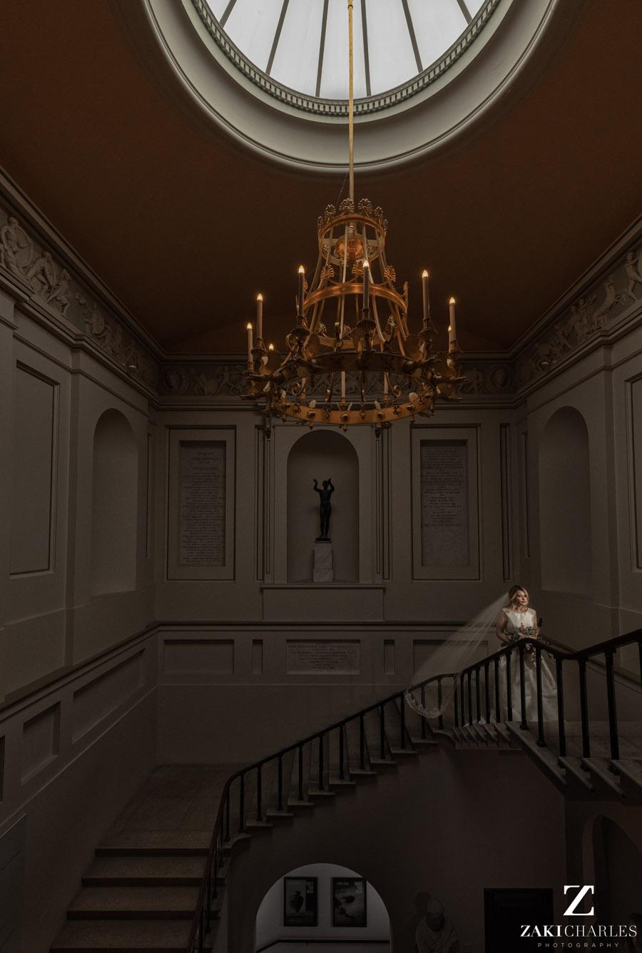 Oxford wedding photography, alternative wedding ideas from Ashmolean Museum with Zaki Charles Photography (34)