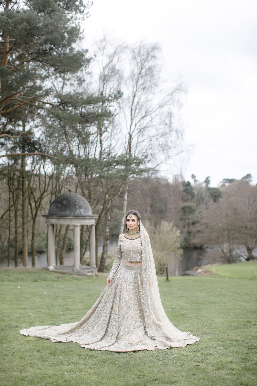 The Wedding Fairy and Zehra Photography style a modern Asian wedding shoot at Delamere Manor (41)