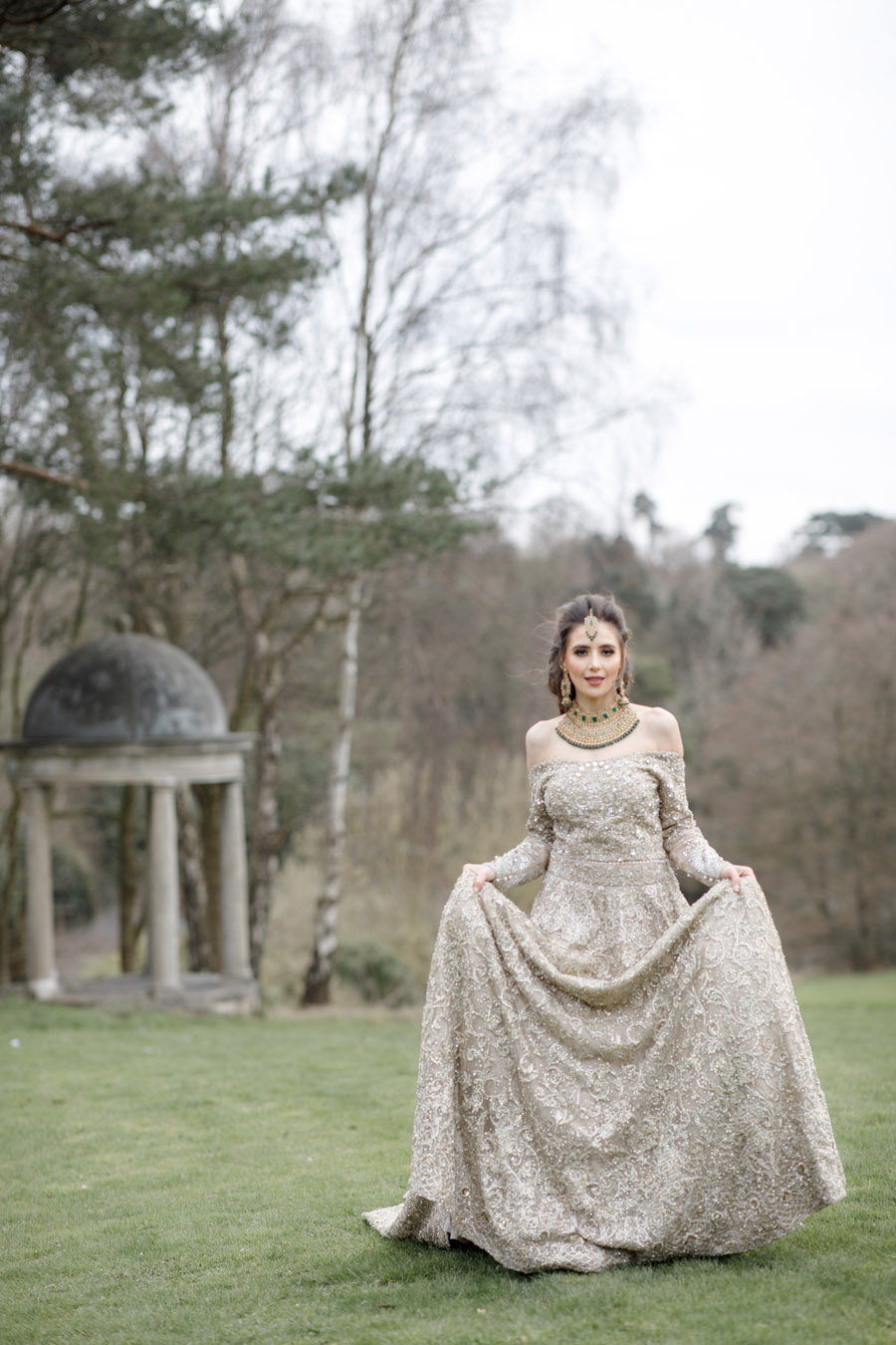 The Wedding Fairy and Zehra Photography style a modern Asian wedding shoot at Delamere Manor (43)