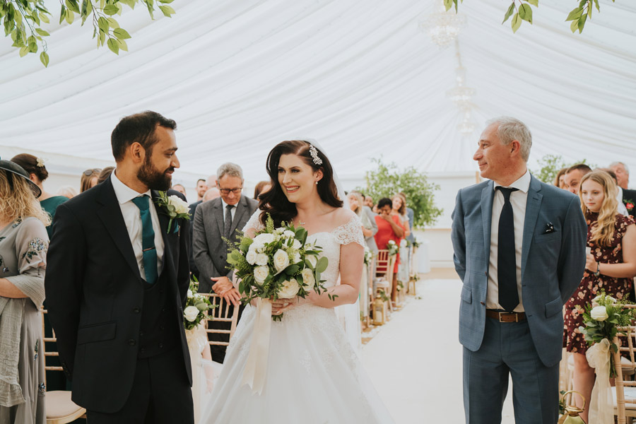Beautiful images of Lizzie and Faz's fusion wedding at Fennes. Image credit Grace Elizabeth (26)