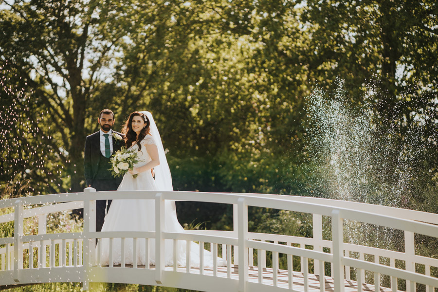 Beautiful images of Lizzie and Faz's fusion wedding at Fennes. Image credit Grace Elizabeth (35)