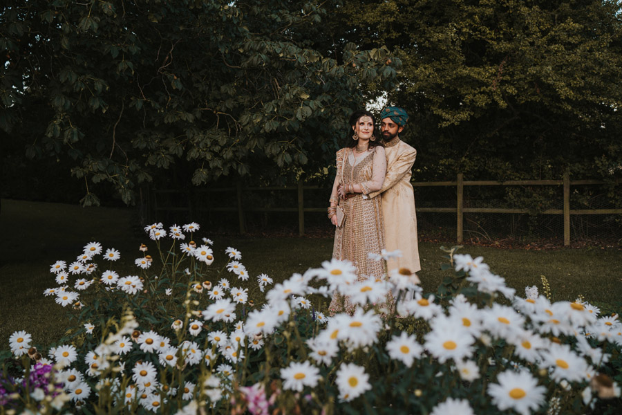Beautiful images of Lizzie and Faz's fusion wedding at Fennes. Image credit Grace Elizabeth (51)