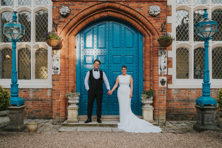 Chloe and Dan's luxury wedding at Gosfield Hall Essex