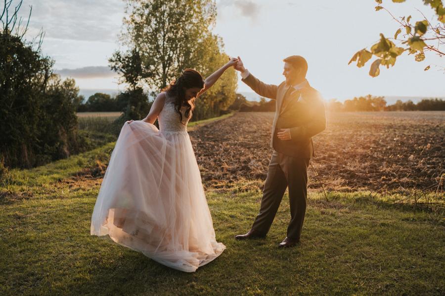 Natalie and John's intimate Houchins Essex wedding