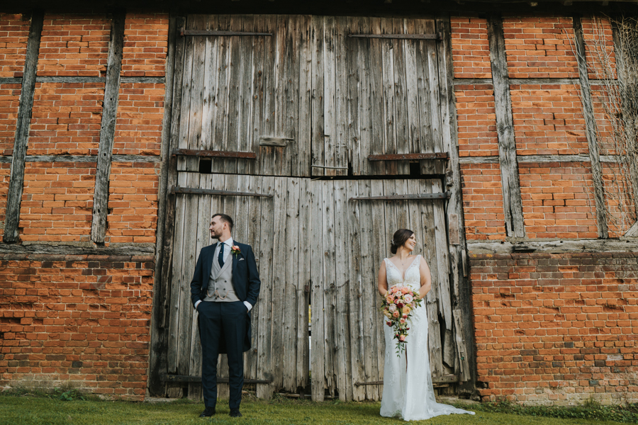 Sophie and Mark's boho rustic wedding at Newland Hall Essex