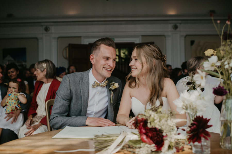 burgundy and mustard florals at Greyfriars, photo credit Musk Photography (25)