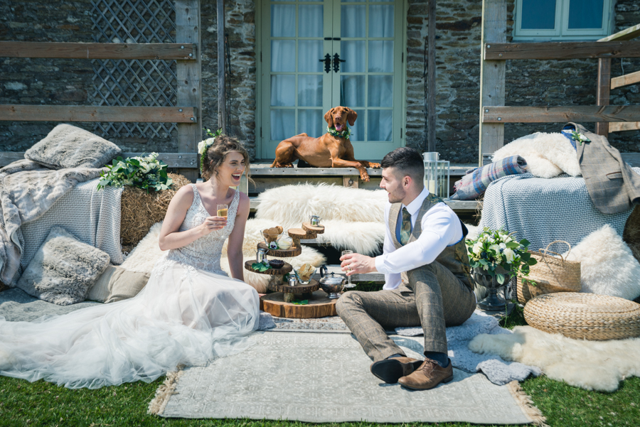 A dog friendly elopement in Cornwall - images by Iconik Photography (14)
