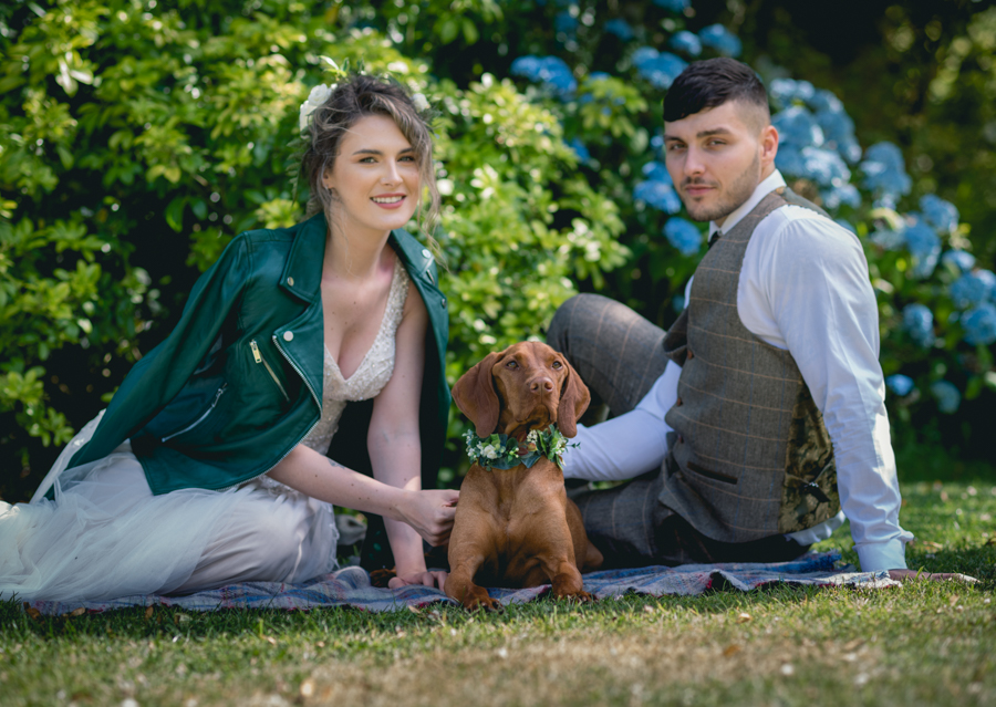 A dog friendly elopement in Cornwall - images by Iconik Photography (10)
