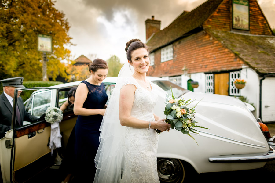 Hannah and Tom's November wedding at The Plough at Leigh with Terence Joseph Photography (8)